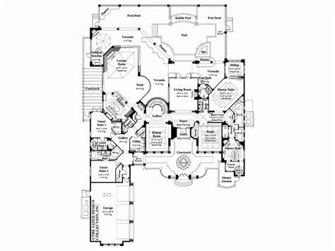 house plans with courtyards mediterranean 13989 design ideas