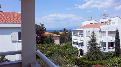 insel krk maisonette wohnung mit balkon malinska