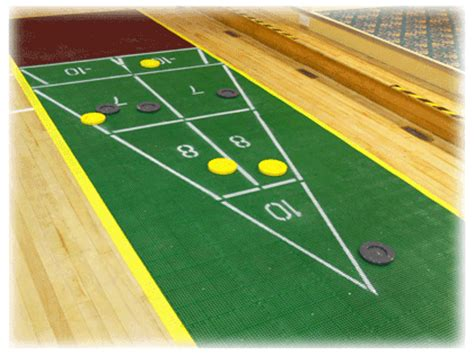 Floor Shuffleboard by Shuffleboard Cues And Discs Call Toll Free 1 800 260 3834