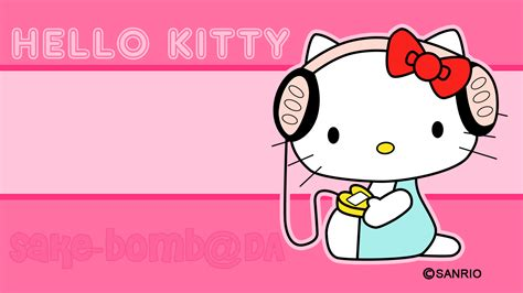 wallpaper hello kitty abstrak wallpapers of kitty wallpaper cave