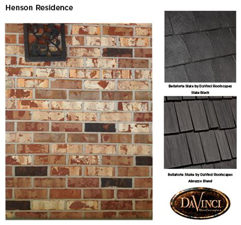 what shingle color will compliment my chicago brick davinci roofscapes