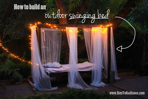 how to build a bed swing swing beds porch bed on pinterest swing beds patio