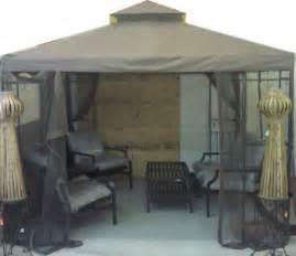 Gazebo Netting Replacement 10x10 by Portland 10x10 10 X 10 Gazebo Replacement Canopy With