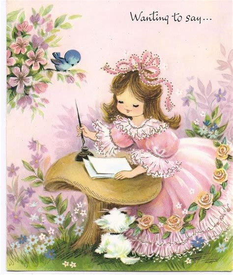 printable vintage greeting cards 17 best images about cute vintage card collection on