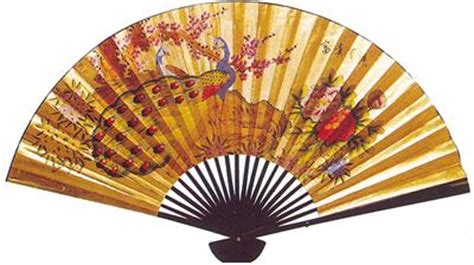 large decorative paper fans large oriental wall paper fan peacock 30x52 ab1074 30 g
