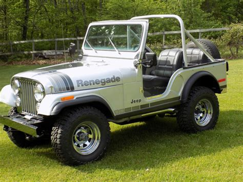 Jeep Cj7 Insulator Silver Alum silver anniversary edition for sale photos technical