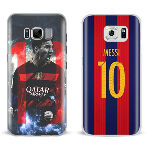 lionel messi logo mobile phone shell cover for samsung galaxy s4 s5 s6 s7 edge s8 plus note