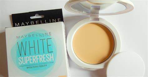 Bedak Maybelline Compact Powder maybelline white superfresh compact powder shell