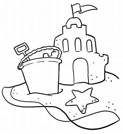 disney beach coloring pages free large images