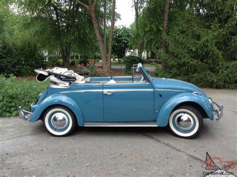 volkswagen beetle 1960 1960 volkswagen beetle convertible 1 2l