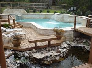 10 Pool Deck And Patio Designs Outdoor Design A Look The Deck Design Ideas