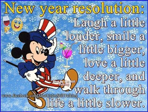 new year phrases characters disney new years resolution quote pictures photos