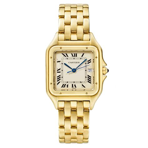 pre owned cartier panth 232 re medium yellow gold betteridge