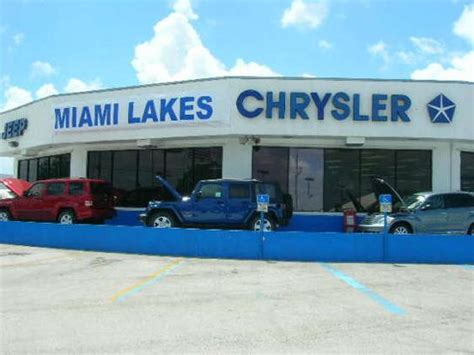 Kia Miami Dealer Miami Lakes Automall Chevrolet Kia Dodge Chrysler Jeep