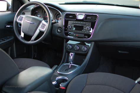 2012 Chrysler 200 Interior 2012 chrysler 200 review motoring rumpus