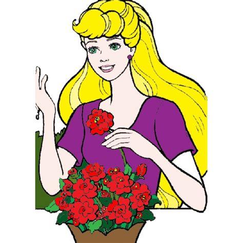 disegni di fiori a colori disegno di ed i fiori a colori per bambini
