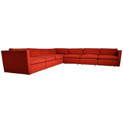 Sectional Modular Sofa by Mid Century Charles Pfister For Knoll Modular Sectional