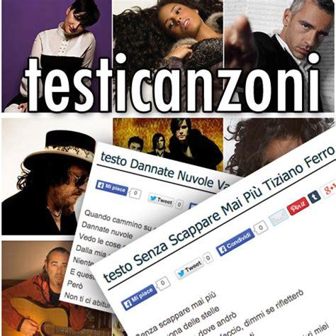 testi di canzoni italiane testi canzoni italiane straniere trova testi artisti