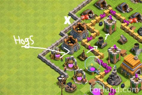 golaloon attack strategy clash of clans land giholo attack strategy for town hall 5 6 clash of clans land