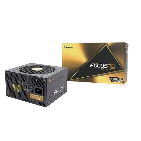 Seasonic Focus Plus Gold Fx 850 80 Gold Modular 10 Year Warranty seasonic power supply ssr 850fx focus plus 850w 80 gold modular retail box