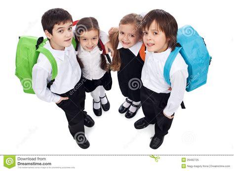 imagenes niños kinder ni 241 os felices de la escuela con los paquetes posteriores