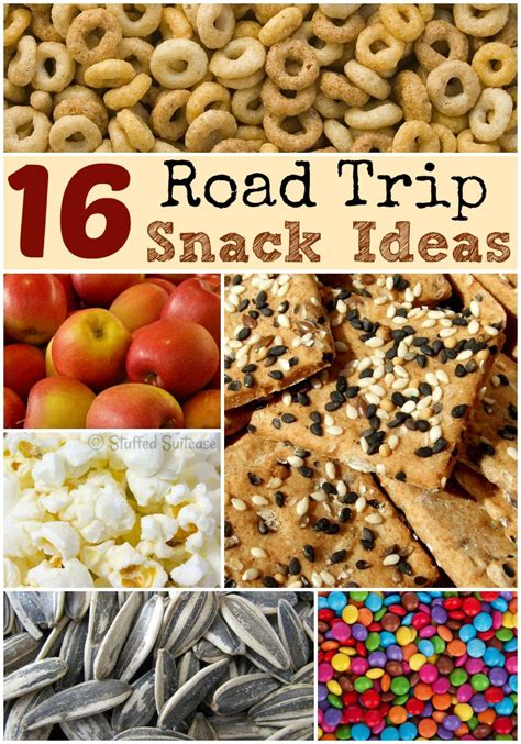 Cabin Food Ideas by Road Trip Snacks For Family Travel Vacations