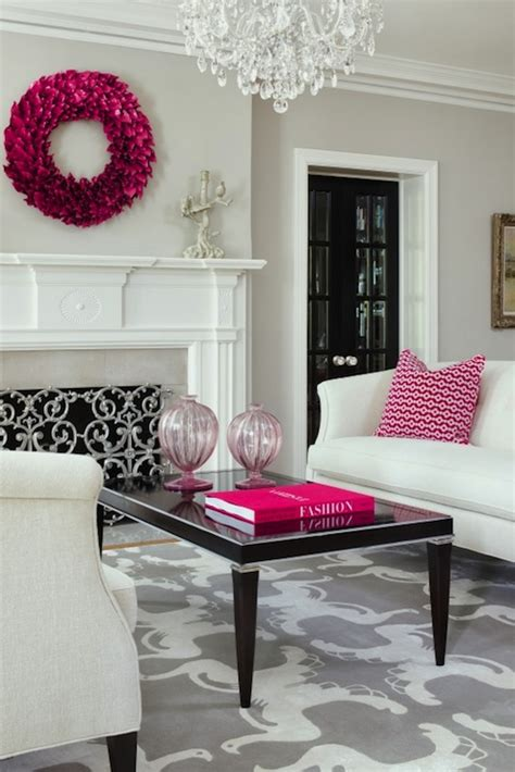 pink and gray living room gray and pink living room contemporary living room benjamin revere pewter martha o