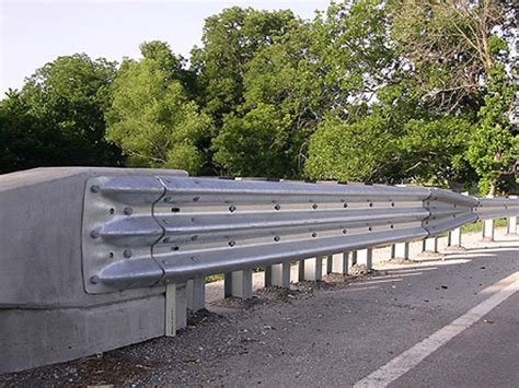 bridge rail sections guardrail and end treatments structural steel products