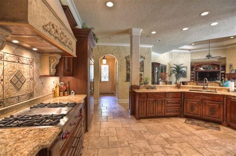 custom home interior design lake custom home mediterranean kitchen other