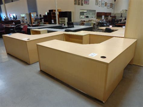 used l shaped office desk used l shape desks various manufacturers arizona office