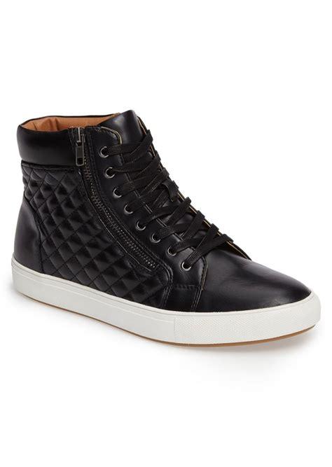 steve madden mens sneakers steve madden steve madden quodis quilted high top sneaker