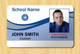 School Id Badge Template student id template 2 other files patterns and templates