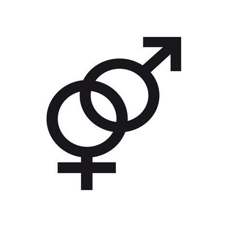 s 237 mbolos chistes ilustraci 243 n del vector descargar simbolo hombre y mujer significado vinilo s 237 mbolo