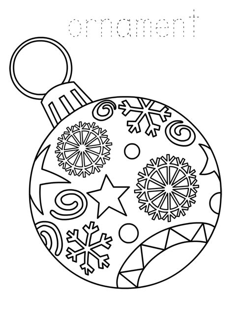 Coloring Pages For Ornaments by Ornament Coloring Pages Best Coloring Pages