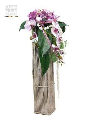 vasi per composizioni floreali composizione floreale fiori artificiali in tessuto