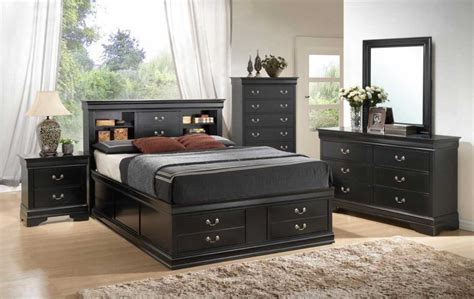 Awesome Black Bedroom Sets Ideas That Great For Decorating Storehouse Bedroom Furniture