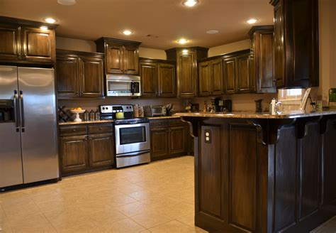 kitchen cabinets dark over sized kitchen with dark cabinets nwa home for sale