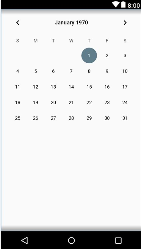 android layout height fill parent not working android calendarview height does not match parent stack