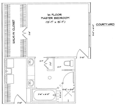 floor plans for master bedroom suites master suite floor plans enjoy comfortable residence with