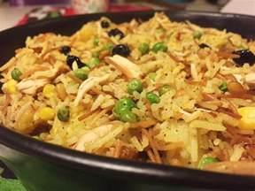 irakisk biryani med kyckling irakisk mat