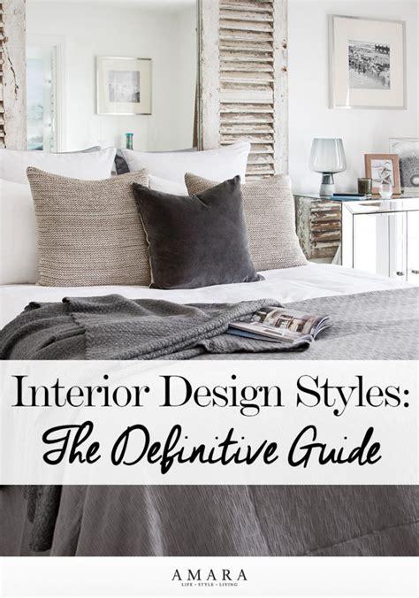guide for interior design styles interior design style guide home design