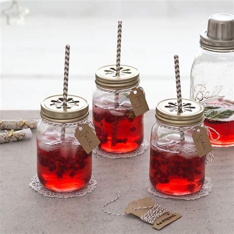 Decorating Ideas For Jam Jars Jam Jar Cocktails With Retro Straws Garden