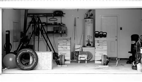 turn  garage   home gym  art  manliness