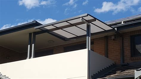 carbolite awnings patio cover carbolite polycarb roof 5 eco awnings
