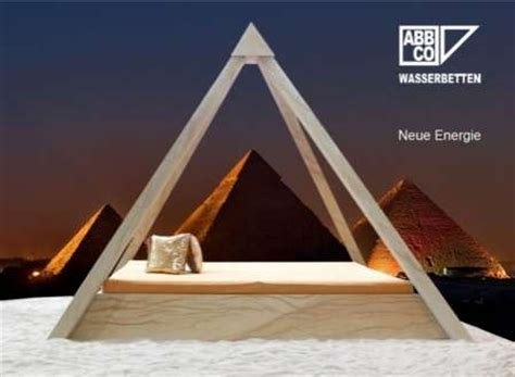 pyramid bed temple beds the pyram 252 de lets you sleep like dead