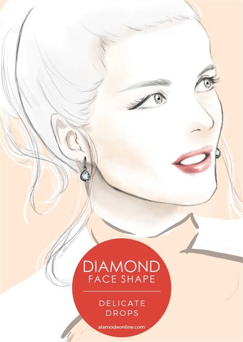 diamond face a line best 25 diamond face shapes ideas only on pinterest