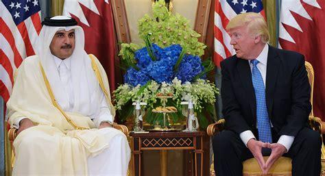 donald trump qatar trump joins the caign against qatar politico magazine