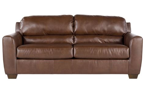 Bark Durablend Leather Sofa At Gardner White Durablend Leather Sofa