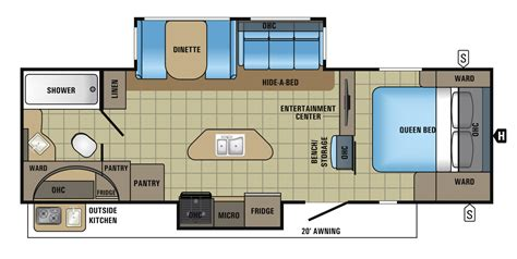 trailers floor plans jayco white hawk travel trailers pictures 2016 2017
