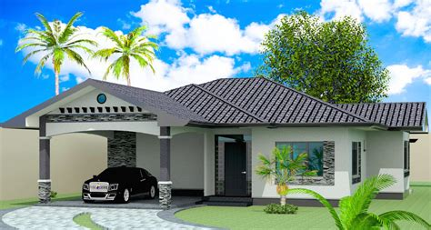 2 Bedroom Bungalow Designs Model 2 2 Bedroom Bungalow American Design Negros Construction Building Better Homes